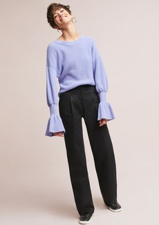 Anthropologie The Essential Wide-Leg Trousers