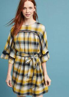 Tie-Waist Kimono Tunic Dress