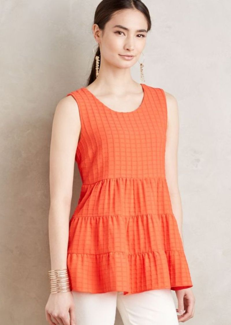 Anthropologie Tiered Babydoll Tank