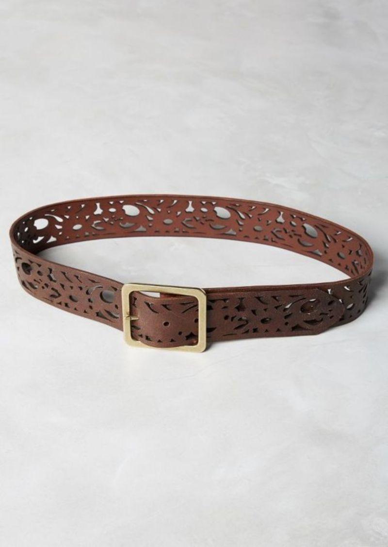 Anthropologie Timberwork Cutout Belt