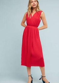 Tracy Reese Pleated Midi Dress