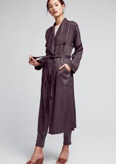 Trapunto Robe Coat