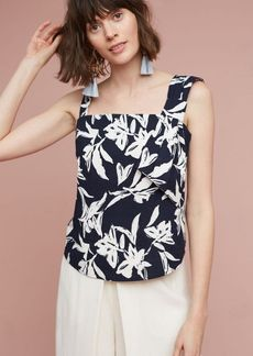 Anthropologie Tropical Asymmetry Blouse