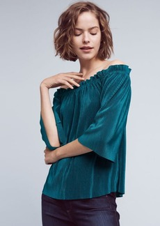 Anthropologie Vacances Off-The-Shoulder Top