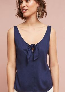 Anthropologie Verena Tie-Front Blouse