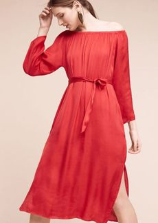 Anthropologie Veronique Off-The-Shoulder Dress