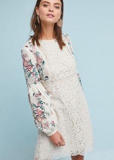 Victoria Embroidered Tunic Dress