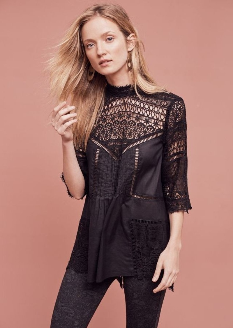 Anthropologie Victoria Lace Tunic