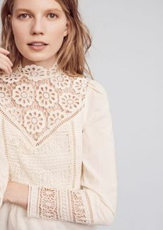 Anthropologie Victorian Lace Blouse