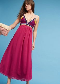 Anthropologie Violet Sunset Crocheted Dress