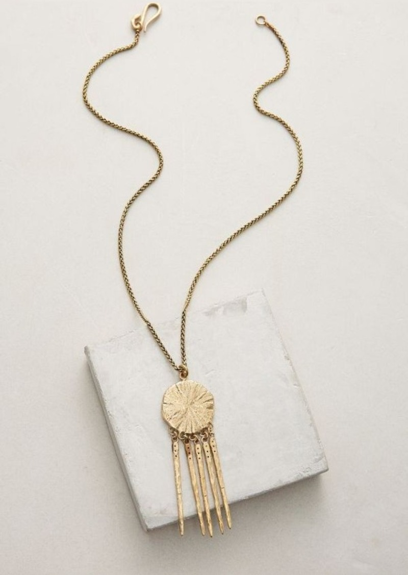 Anthropologie Voyager Pendant Necklace