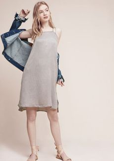 Anthropologie Washed Layering Slip Dress