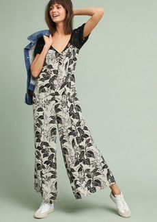 Anthropologie Windsor Lace Jumpsuit