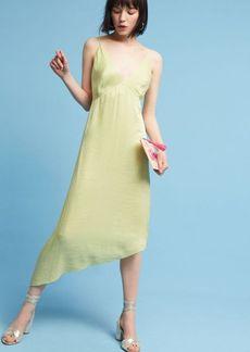 Anthropologie Winnie Woven Slip Dress