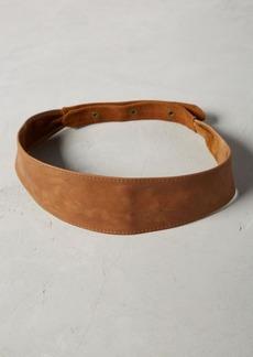 Anthropologie Woodwall Belt