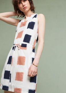 Yarn-Dyed Henley Shirtdress
