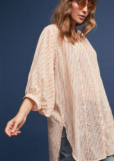 Anthropologie Yarn-Dyed Tunic