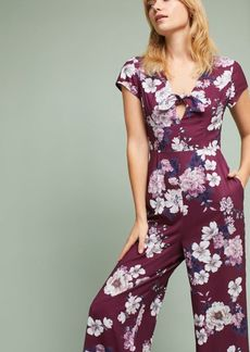 Anthropologie Yumi Kim Floral Cutout Jumpsuit