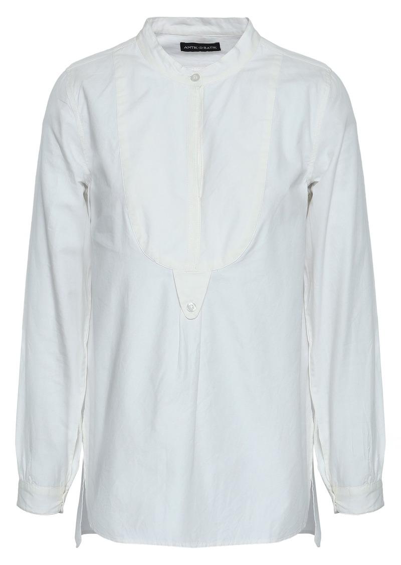 Antik Batik Woman Cotton-poplin Shirt Off-white