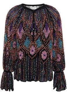 Antik Batik Woman Emilia Embellished Georgette Blouse Black