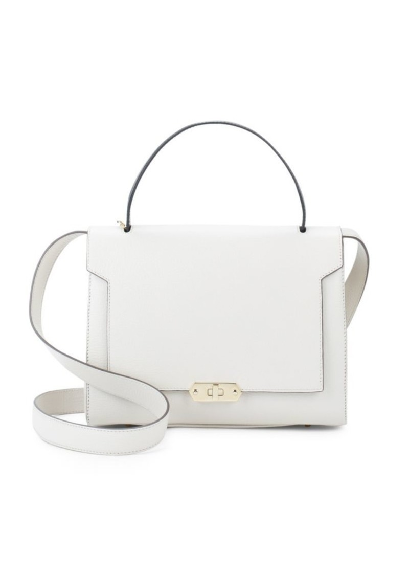 Anya Hindmarch Bathurst Leather Satchel