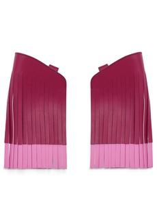 Anya Hindmarch Build a Bag Fringe Leather Panels