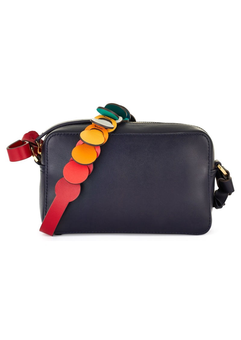 Anya Hindmarch Camera Crossbody Bag With Link Strap