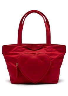Anya Hindmarch Chubby Heart nylon tote bag