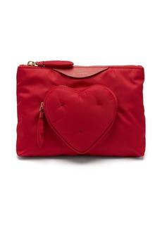 Anya Hindmarch Chubby Heart pouch