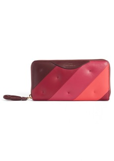 Anya Hindmarch Chubby Zip Around Continental Wallet