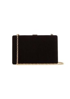 Anya Hindmarch Clutch-On-A-Chain velvet clutch