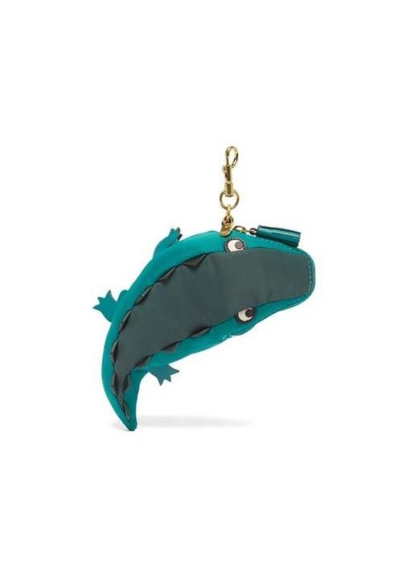 Anya Hindmarch Crocodile-charm tote bag