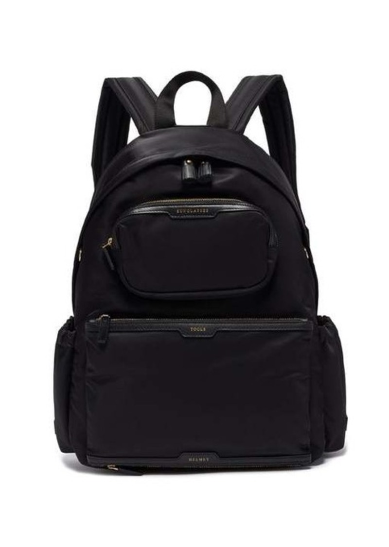 Anya Hindmarch Cycling recycled-canvas backpack