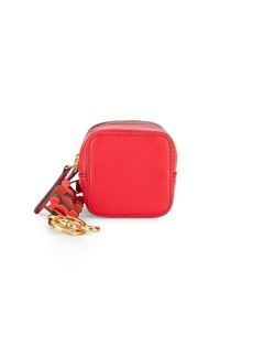 Anya Hindmarch Double Zip Leather Coin Purse