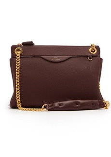 Anya Hindmarch Double-zip leather shoulder bag