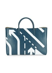 Anya Hindmarch Ebury Embossed Leather Maxi Tote