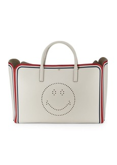 Anya Hindmarch Ebury Smiley Leather Shoulder bag