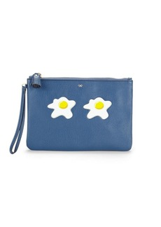 Anya Hindmarch Eggs Leather Pouch