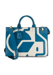 Anya Hindmarch Ephson Nationwide Leather Tote