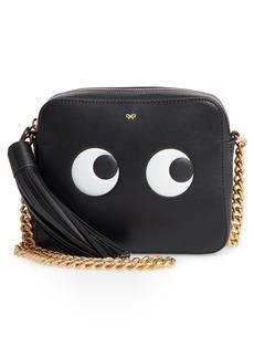 Anya Hindmarch Eyes Camera Leather Crossbody Bag