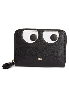 Anya Hindmarch Eyes Small Leather Zip Around Wallet