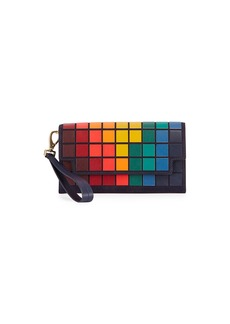 Anya Hindmarch Giant Pixel Continental Wristlet/Wallet