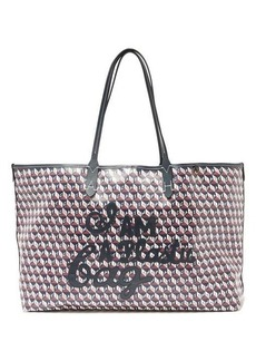 Anya Hindmarch I Am A Plastic Bag recycled-canvas tote bag