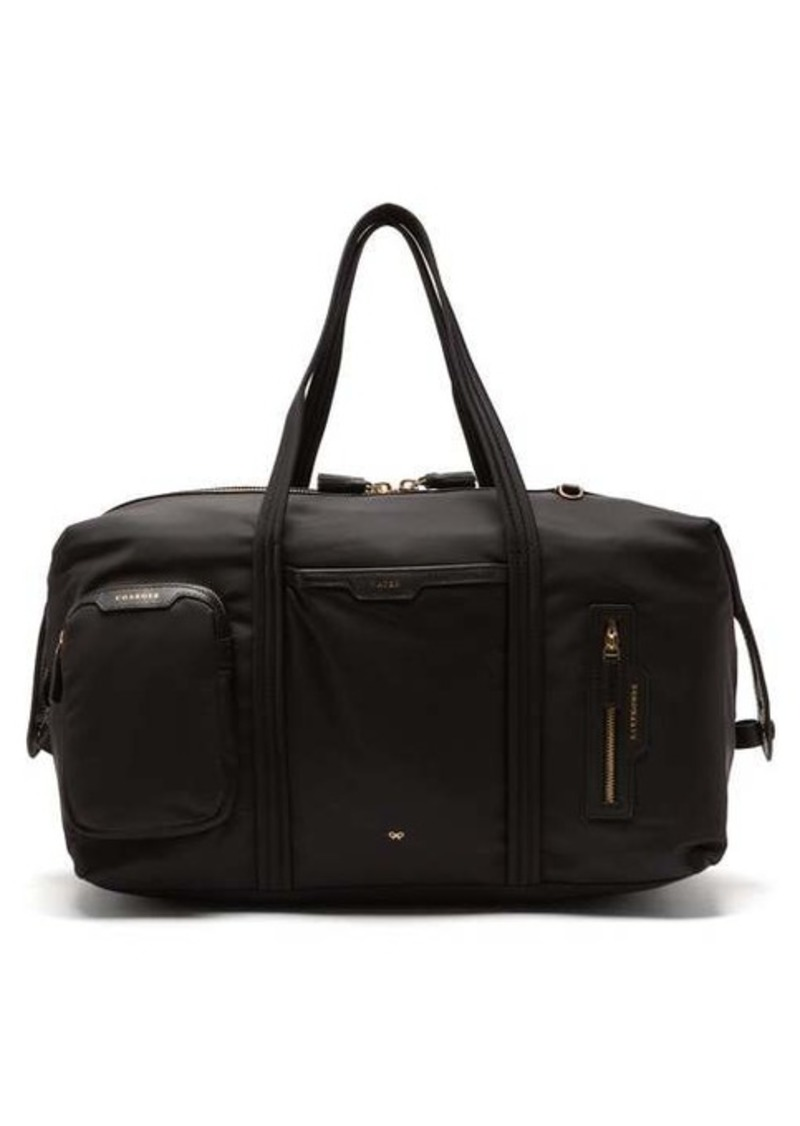 Anya Hindmarch In-Flight multi-pocket recycled-fibre holdall