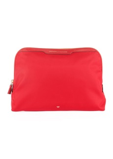 Anya Hindmarch Lotions & Potions Cosmetics Bag  Red