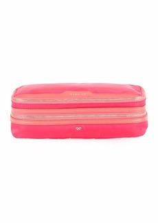 Anya Hindmarch Make-Up Cosmetics Bag  Hot Pink