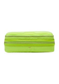 Anya Hindmarch Make-Up Cosmetics Bag  Neon Yellow
