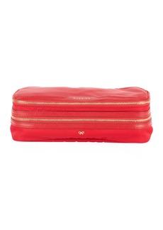 Anya Hindmarch Make-Up Cosmetics Bag  Red
