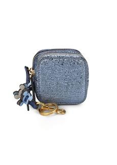 Anya Hindmarch Metallic Double-Zip Coin Purse
