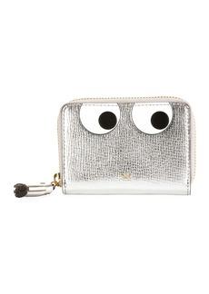 Anya Hindmarch Metallic Eyes Zip Wallet